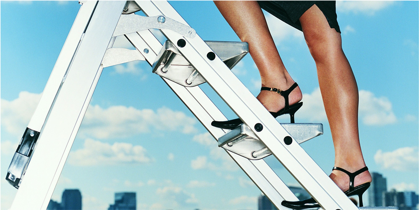 Your three secrets to climbing the corporate ladder quickly