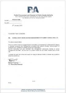PPDA testimonial