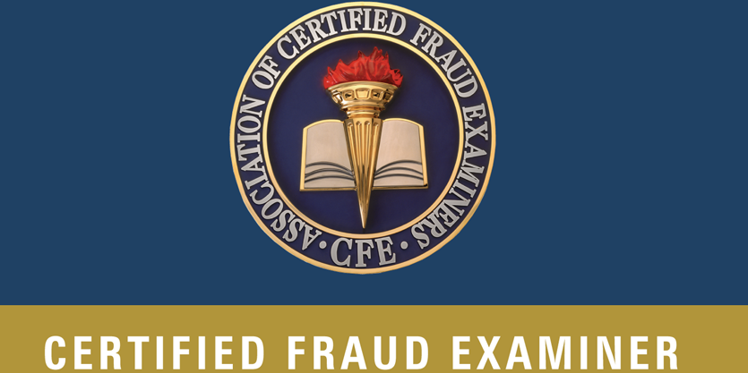 Higher qualification: Certified Fraud Examiner