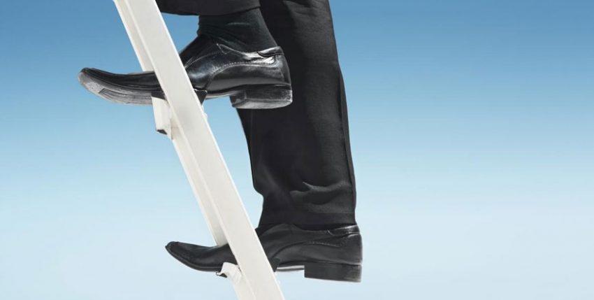 How to climb the corporate ladder