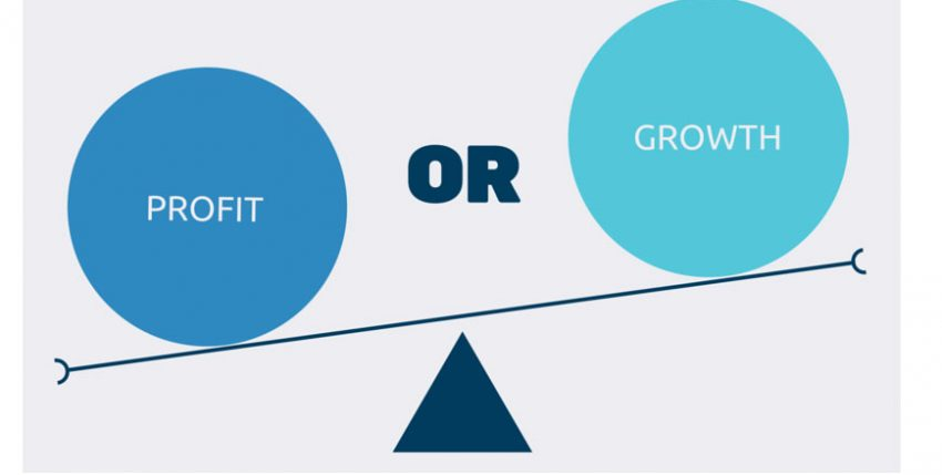 Profitability vs growth