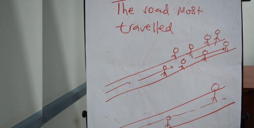 The road most travelled