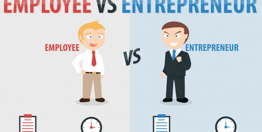 Entrepreneurship vs formal employment