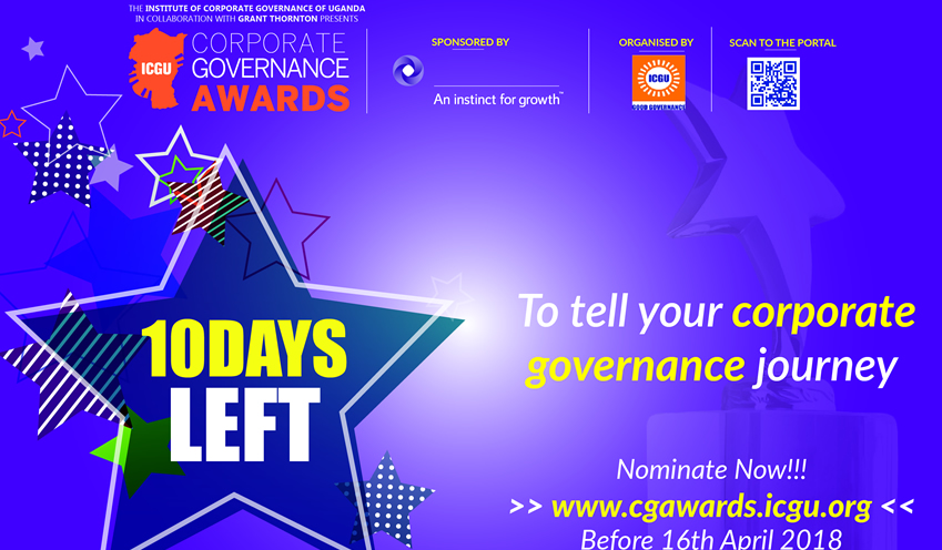 ICGU Corporate Governance Awards 2018