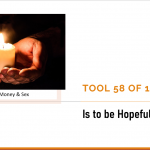 Tool 58 of 104 is hopeful